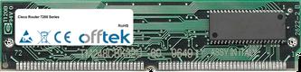 Router 7200 Séries 64Mo Kit (2x32Mo Modules) - 72 Pin 5v FPM Non-Parity Simm