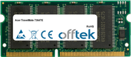 TravelMate 7364TE 64Mo Module - 144 Pin 3.3v PC66 SDRAM SoDimm