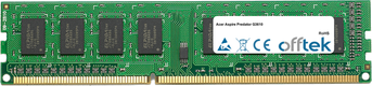 Aspire Predator G3610 4Go Module - 240 Pin 1.5v DDR3 PC3-10664 Non-ECC Dimm
