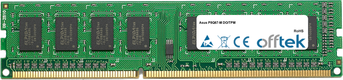P8Q67-M DO/TPM 8Go Module - 240 Pin 1.5v DDR3 PC3-10600 Non-ECC Dimm