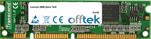 Optra T430 128Mo Module - 100 Pin 3.3v SDRAM PC100 SoDimm