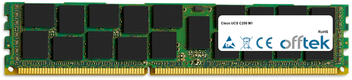 UCS C250 M1 8Go Module - 240 Pin 1.5v DDR3 PC3-10664 ECC Registered Dimm (Dual Rank)