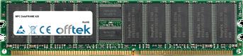 DataFRAME 420 4Go Kit (2x2Go Modules) - 184 Pin 2.5v DDR333 ECC Registered Dimm (Dual Rank)