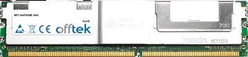NetFRAME 3640 8Go Kit (2x4Go Modules) - 240 Pin 1.8v DDR2 PC2-5300 ECC FB Dimm