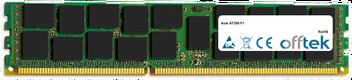 AT350 F1 16Go Module - 240 Pin 1.5v DDR3 PC3-8500 ECC Registered Dimm (Quad Rank)