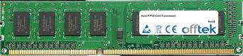P7F-E (Core I7 Processor) 4Go Module - 240 Pin 1.5v DDR3 PC3-8500 Non-ECC Dimm