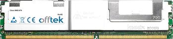 WAE-674 4Go Kit (2x2Go Modules) - 240 Pin 1.8v DDR2 PC2-5300 ECC FB Dimm