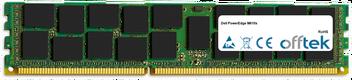 PowerEdge M610x 16Go Module - 240 Pin 1.5v DDR3 PC3-8500 ECC Registered Dimm (Quad Rank)