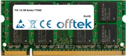 14.1W Séries TY640 2Go Module - 200 Pin 1.8v DDR2 PC2-5300 SoDimm