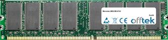 MS-6743 1Go Module - 184 Pin 2.6v DDR400 Non-ECC Dimm