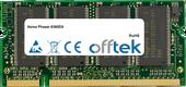 Phaser 6360DX 512Mo Module - 200 Pin 2.5v DDR PC333 SoDimm