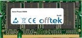 Phaser 8560N 512Mo Module - 200 Pin 2.5v DDR PC333 SoDimm