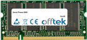 Phaser 8860 512Mo Module - 200 Pin 2.5v DDR PC333 SoDimm