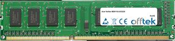 Veriton M2611G-Ui3322X 4Go Module - 240 Pin 1.5v DDR3 PC3-12800 Non-ECC Dimm
