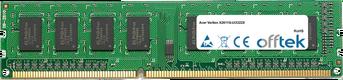 Veriton X2611G-Ui3322X 8Go Module - 240 Pin 1.5v DDR3 PC3-10600 Non-ECC Dimm