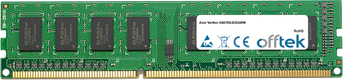 Veriton X4618G-Ei5240W 4Go Module - 240 Pin 1.5v DDR3 PC3-10664 Non-ECC Dimm