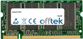 7031 512Mo Module - 200 Pin 2.5v DDR PC333 SoDimm