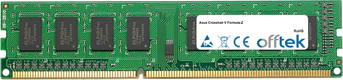 Crosshair V Formula-Z 8Go Module - 240 Pin 1.5v DDR3 PC3-10600 Non-ECC Dimm