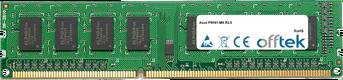 P8H61-MX R2.0 8Go Module - 240 Pin 1.5v DDR3 PC3-10600 Non-ECC Dimm