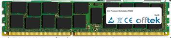 Precision Workstation T5600 16Go Module - 240 Pin 1.5v DDR3 PC3-10600 ECC Registered Dimm (Quad Rank)
