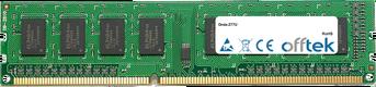 Z77U 8Go Module - 240 Pin 1.5v DDR3 PC3-10600 Non-ECC Dimm