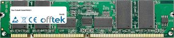 Cobalt RAQ 3 256Mo Module - 168 Pin 3.3v PC100 ECC Registered SDRAM Dimm