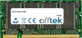 Phaser 6360 512Mo Module - 200 Pin 2.5v DDR PC333 SoDimm
