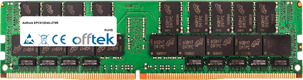 EPC612D4U-2T8R 64Go Module - 288 Pin 1.2v DDR4 PC4-23400 LRDIMM ECC Dimm Load Reduced