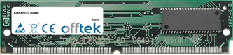 AP5TC (SIMM) 64Mo Kit (2x32Mo Modules) - 72 Pin 5v EDO Non-Parity Simm