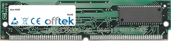 AX53 128Mo Kit (2x64Mo Modules) - 72 Pin 5v EDO Non-Parity Simm