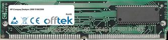 Deskpro 2000 5166/2500 16Mo Kit (2x8Mo Modules) - 72 Pin 5v EDO Non-Parity Simm