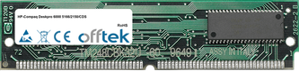 Deskpro 6000 5166/2150/CDS 16Mo Kit (2x8Mo Modules) - 72 Pin 5v EDO Non-Parity Simm
