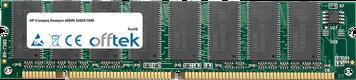 Deskpro 4000N 5200X/1600 128Mo Module - 168 Pin 3.3v PC100 SDRAM Dimm