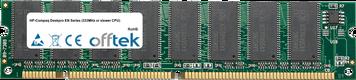 Deskpro EN Séries (333MHz Or Slower CPU) 128Mo Module - 168 Pin 3.3v PC100 SDRAM Dimm