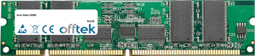 Altos 22000 4Go Kit (4x1Go Modules) - 168 Pin 3.3v PC133 ECC Registered SDRAM Dimm