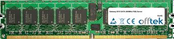 9510 SATA (800MHz FSB) Server 4Go Kit (2x2Go Modules) - 240 Pin 1.8v DDR2 PC2-3200 ECC Registered Dimm (Dual Rank)