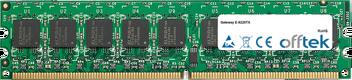 E-9220TX 2Go Module - 240 Pin 1.8v DDR2 PC2-4200 ECC Dimm (Dual Rank)