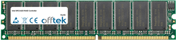 SRCU42X RAID Controller 512Mo Module - 184 Pin 2.5v DDR333 ECC Dimm (Single Rank)