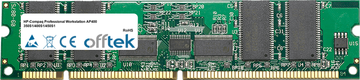 Professional Workstation AP400 350S1/400S1/450S1 256Mo Module - 168 Pin 3.3v PC100 ECC Registered SDRAM Dimm