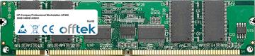 Professional Workstation AP400 350S1/400S1/450S1 256Mo Module - 168 Pin 3.3v PC100 ECC Registered SDRAM Dimm