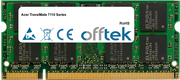 TravelMate 7110 Séries 2Go Module - 200 Pin 1.8v DDR2 PC2-4200 SoDimm