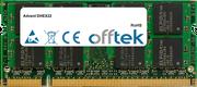DHEX22 1Go Module - 200 Pin 1.8v DDR2 PC2-4200 SoDimm