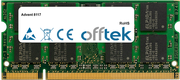 8117 1Go Module - 200 Pin 1.8v DDR2 PC2-4200 SoDimm