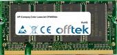 Color LaserJet CP4005dn 512Mo Module - 200 Pin 2.5v DDR PC333 SoDimm