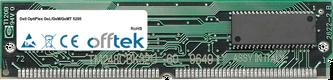 OptiPlex GsL/GsM/GsMT 5200 64Mo Kit (2x32Mo Modules) - 72 Pin 5v EDO Non-Parity Simm
