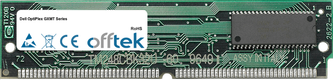 OptiPlex GXMT Séries 64Mo Kit (2x32Mo Modules) - 72 Pin 5v EDO Non-Parity Simm