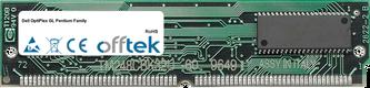 OptiPlex GL Pentium Family 64Mo Kit (2x32Mo Modules) - 72 Pin 5v EDO Non-Parity Simm
