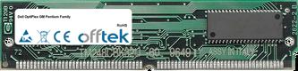 OptiPlex GM Pentium Family 64Mo Kit (2x32Mo Modules) - 72 Pin 5v EDO Non-Parity Simm