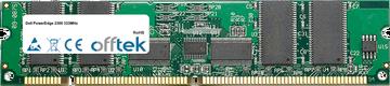 PowerEdge 2300 333MHz 256Mo Module - 168 Pin 3.3v PC100 ECC Registered SDRAM Dimm