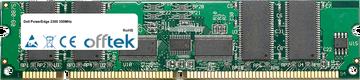 PowerEdge 2300 350MHz 256Mo Module - 168 Pin 3.3v PC100 ECC Registered SDRAM Dimm